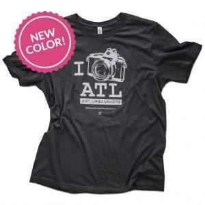 I Shoot ATL® T-Shirt Vintage Black