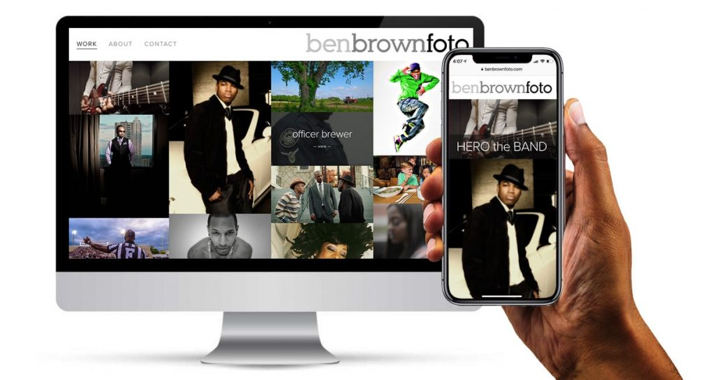 Branding Ben Brown Foto Logo Design