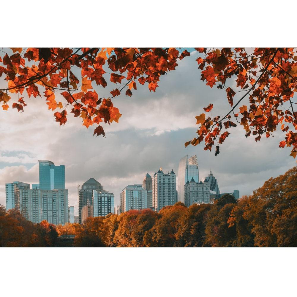 Atlanta Fall Breeze Wall Art